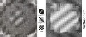Comment obtenir des degrades de couleurs en tissage armures composes serge toile_Textile Addict