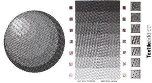 Comment obtenir des degrades de couleurs en tissage satin fondu_Textile Addict