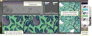De la couleur theorique à l'armure - la mise en carte d'un motif Jacquard armures_Textile Addict