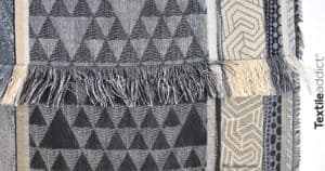 Qu'est-ce qu'un tissu façonne ou tissu Jacquard_Textile Addict