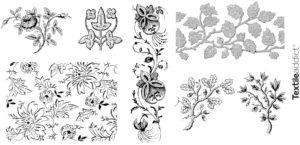 motif textile flore_Textile Addict