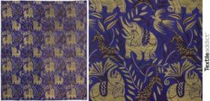 motifs Jacquard du debut du XXe siecle 1_Textile Addict
