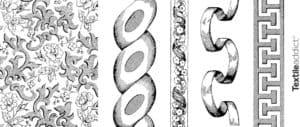 motifs textiles d'ornement classiques_Textile Addict