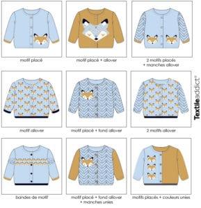 composition du motif jacquard tricotage_TextileAddict