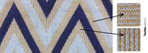 degrade 2 couleurs jacquard maille_TextileAddict