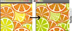 reduction de couleur motif_TextileAddict
