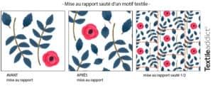 creer un motif rapport saute photoshop_TextileAddict