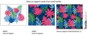 motif mise au rapport saute illustrator_TextileAddict