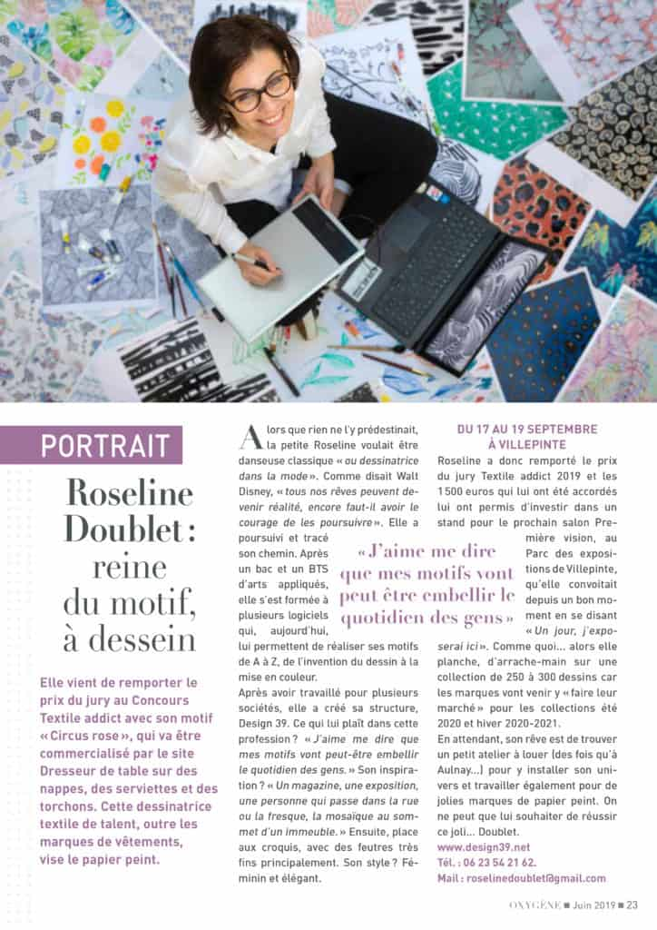 oxygene roseline doublet_concours TextileAddict