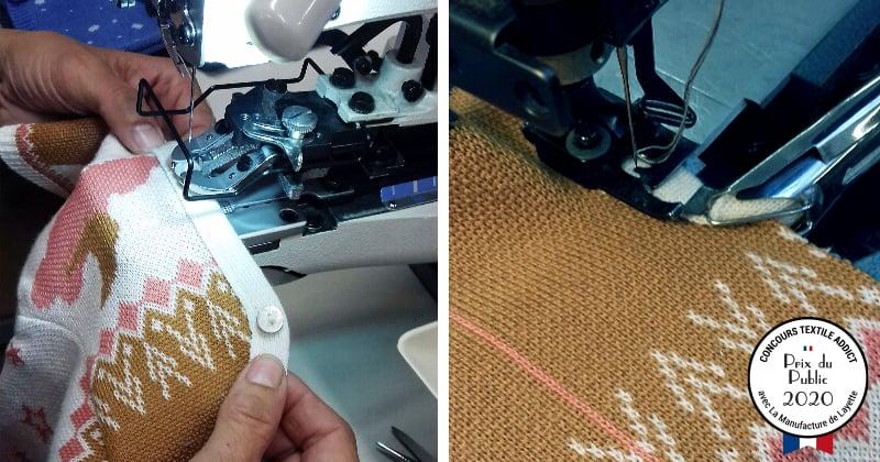 confection motif jacquard prix public concours textileaddict 2020